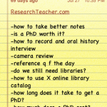 How to Use Your iPhone (or any smartphone) for Research