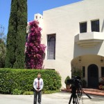 "Filming ""First Ladies: Influence and Image"" Lou Henry Hoover"