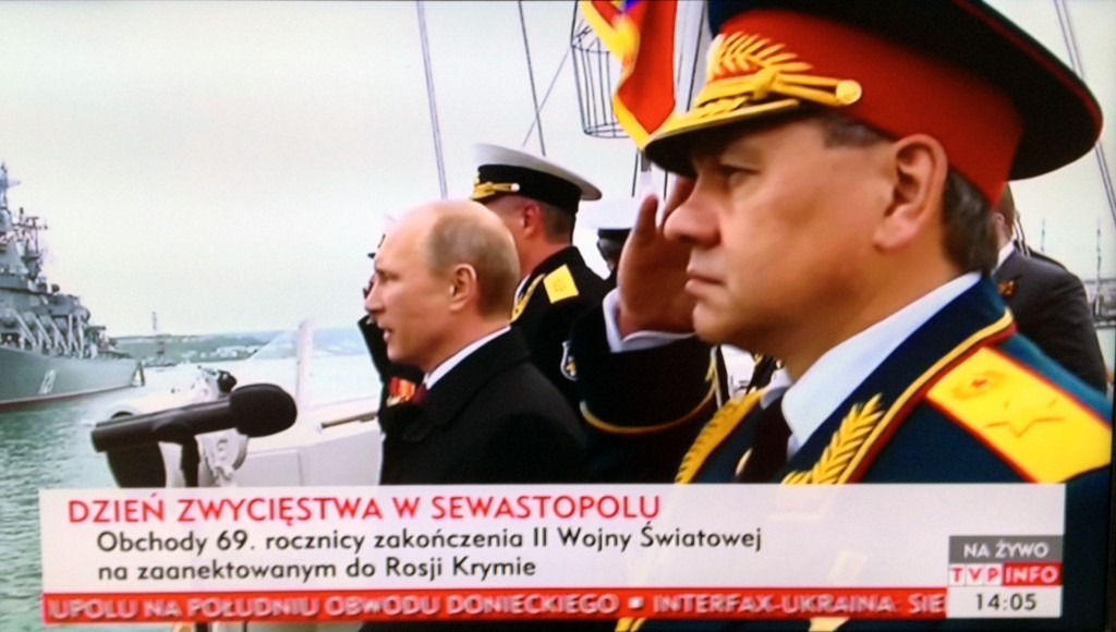 """Victory Day in Sevastopol; Celebration of the 69th Anniversary of the End of World War II in the Russian-Annexed Crimea"" May 9, 2014"