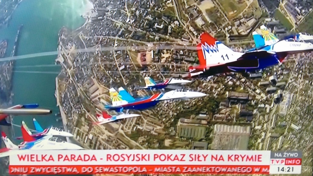 """The Great Parade - Russian Show of Force in Crimea"" May 9, 2014"