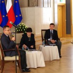 Presentation on Herbert Hoover at the Chancellery of the Prime Minister of Poland