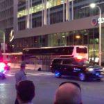 Donald Trump's Motorcade in Cleveland