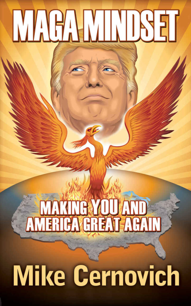 MAGA Mindset: Making YOU and America Great Again by Mike Cernovich book cover