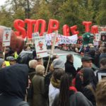 Anti-TTIP and CETA Protest in Warsaw