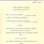 A.R.A. Bulletin #3 April 1, 1919