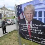 Welcome to Warsaw President Trump