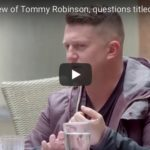 Polish Interview with Tommy Robinson
