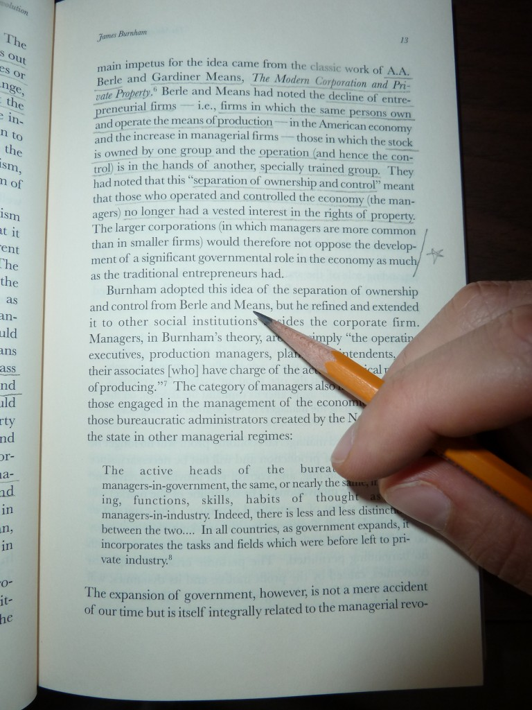 Image result for book with pencil margin notes